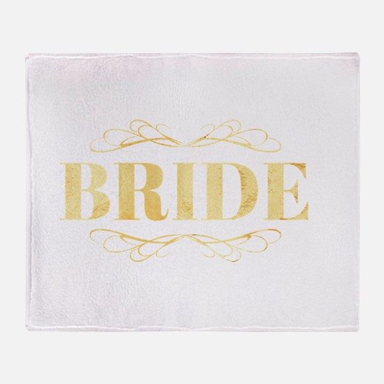 Bridal Party Throw Blanket