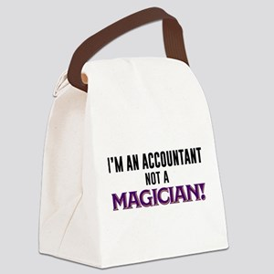 I'm An Accountant Not A Magician Canvas Lunch Bag