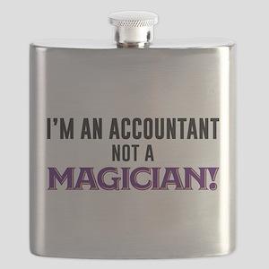 I'm An Accountant Not A Magician Flask