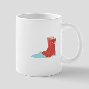 Rainboots Mugs