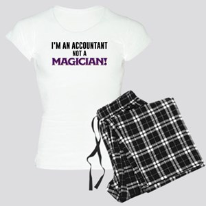 I'm An Accountant Not A Mag Women's Light Pajamas