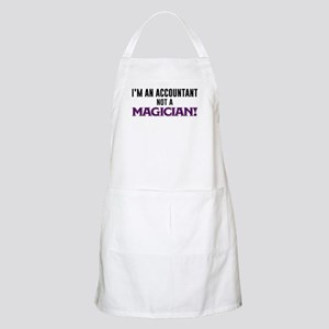 I'm An Accountant Not A Magician Light Apron
