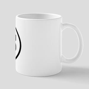 DMS Oval Mug