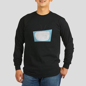Broken TV Long Sleeve T-Shirt