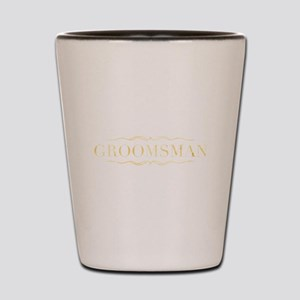 Bridal Party- Groomsman Shot Glass