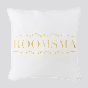 Bridal Party- Groomsman Woven Throw Pillow