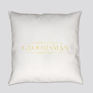 Bridal Party- Groomsman Everyday Pillow