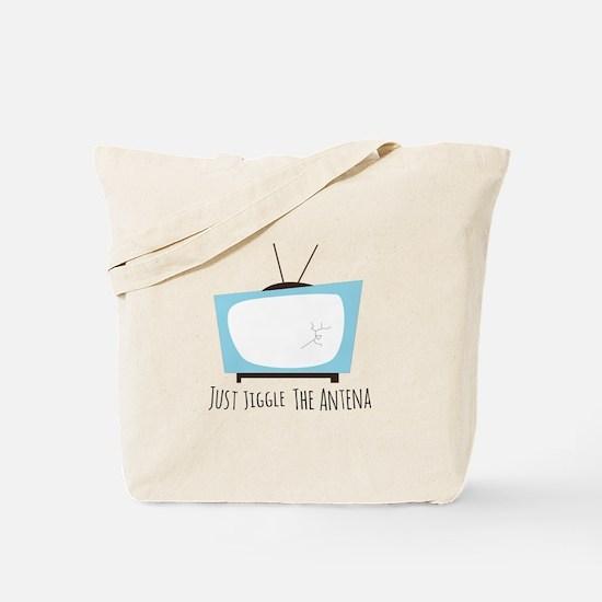 Jiggle Antena Tote Bag