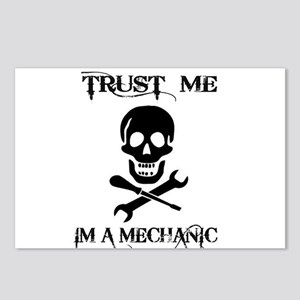TRUST ME IM A MECHANIC Postcards (Package of 8)