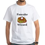 Pancake Wizard White T-Shirt