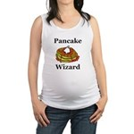Pancake Wizard Maternity Tank Top