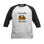 Pancake Wizard Kids Baseball Jersey