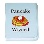 Pancake Wizard baby blanket