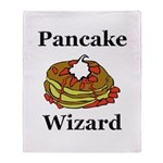 Pancake Wizard Throw Blanket