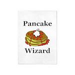Pancake Wizard 5'x7'Area Rug