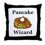 Pancake Wizard Throw Pillow