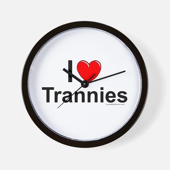 Trannies Wall Clock