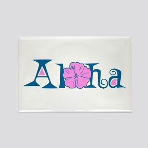 Aloha Rectangle Magnet