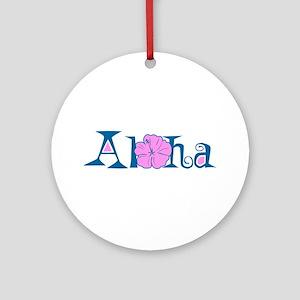 Aloha Ornament (Round)