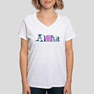 Aloha Women's V-Neck T-Shirt