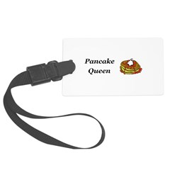 Pancake Queen Luggage Tag