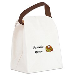 Pancake Queen Canvas Lunch Bag