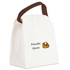 Pancake Queen Canvas Lunch Bag