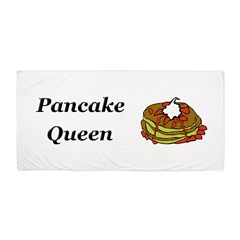 Pancake Queen Beach Towel