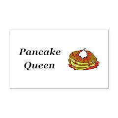 Pancake Queen Rectangle Car Magnet