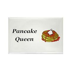 Pancake Queen Rectangle Magnet