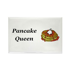 Pancake Queen Rectangle Magnet
