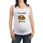 Pancake Queen Maternity Tank Top