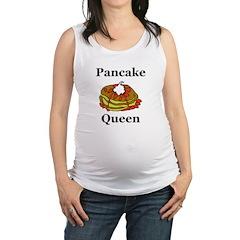 Pancake Queen Maternity Tank Top
