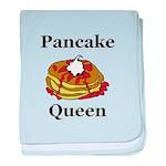 Pancake Queen baby blanket