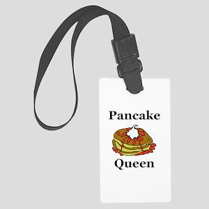 Pancake Queen Large Luggage Tag