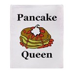 Pancake Queen Throw Blanket