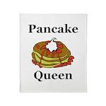 Pancake Queen Throw Blanket