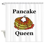 Pancake Queen Shower Curtain