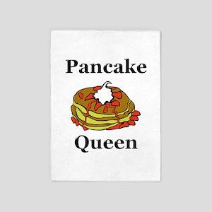 Pancake Queen 5'x7'Area Rug