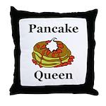 Pancake Queen Throw Pillow