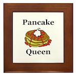 Pancake Queen Framed Tile