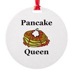 Pancake Queen Round Ornament