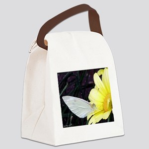 Butter on Daisy Canvas Lunch Bag