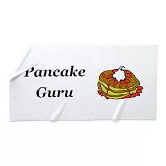 Pancake Guru Beach Towel