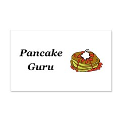 Pancake Guru Wall Decal