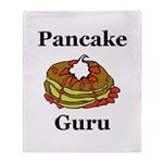 Pancake Guru Throw Blanket