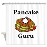 Pancake Guru Shower Curtain