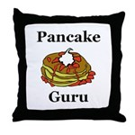 Pancake Guru Throw Pillow