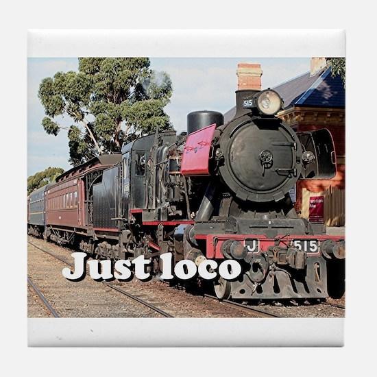 Just loco: Goldfields steam locomotiv Tile Coaster