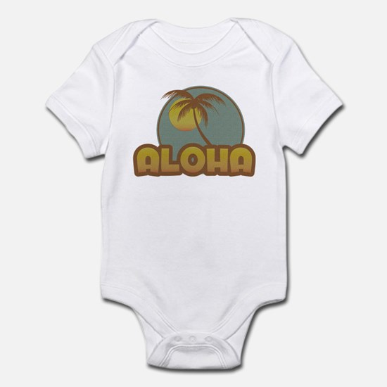 Aloha Palm Infant Bodysuit